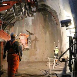 Cevni štit za tunele